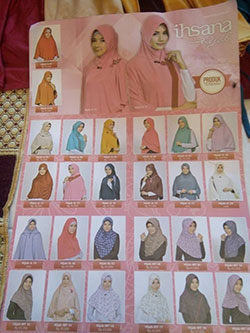 Koleksi Jilbab Ihsana Bandung