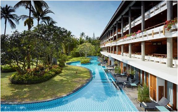 Kolam Renang Melia Bali