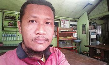 Selfie sejenak di Warung Ponorogo, Bedugul :)