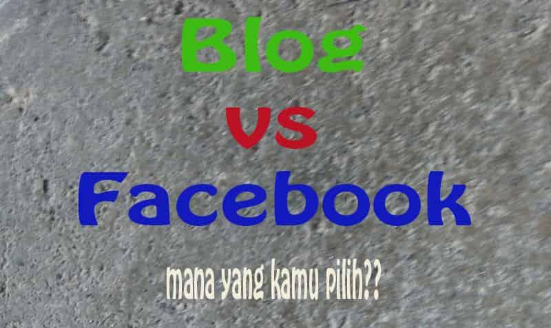 Blog dan Facebook 2 Alat Pemasaran Efektif