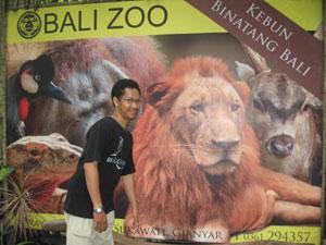 Rekreasi di Bali Zoo