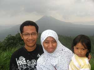 Arif di Kintamani dan Bedugul Bali