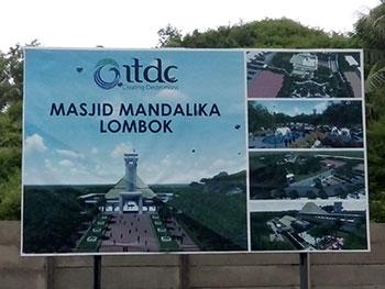 Akan dibangun Masjid Mandalika di Lombok